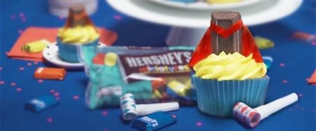 goody-bags-hersheys, birthday, party. eventandpartyideas.com