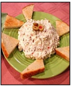olive-nut-spread, crackers, bread, appetizers, party, event. eventandpartyideas.com
