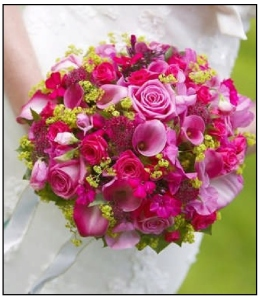 bouquets_2-pink, bouquet, flowers, wedding, bridal, bridal bouquet. eventandpartyideas.com