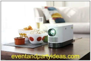 LG ProBeam smart TV laser projector